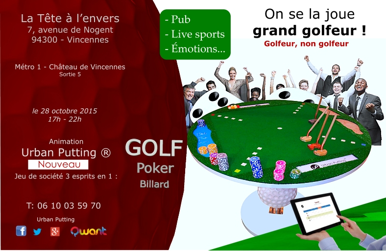 On se la joue grand golfeur