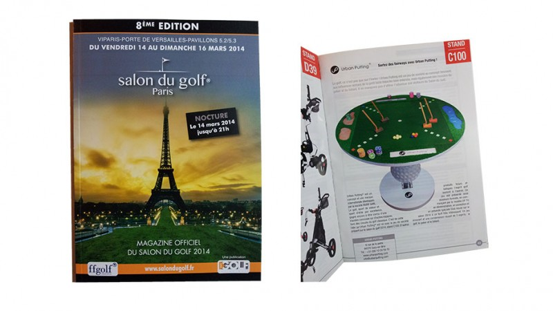 Urban Putting  du salon du golf 2014