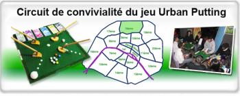 Convivialite Urban Putting - https://urbanputting.com