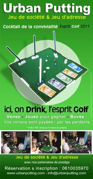 Soirée Up - Pub la Tête à l'envers à Vincennes - vendredi 28 janvier 2011 · 18:30 - 22:30