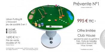prévente UP 70 salon du golf 2014 - 4-1 web white1