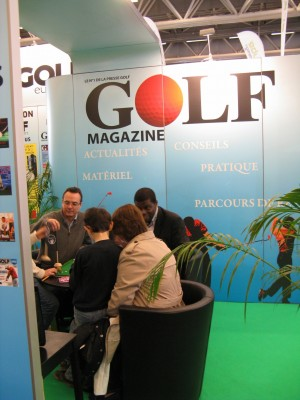 Démo Urban Putting - Salon - Golf Mag - https://urbanputting.com